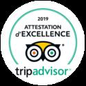Attestation d excellence TripAdvisor